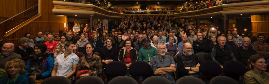 Mountain Film Festival Audience